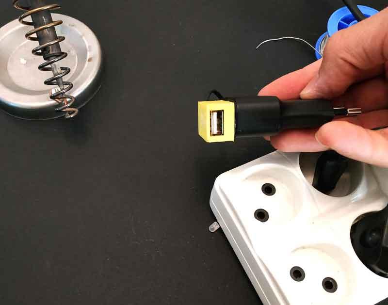 تبدیل شارژر های قدیمی به شارژر USB