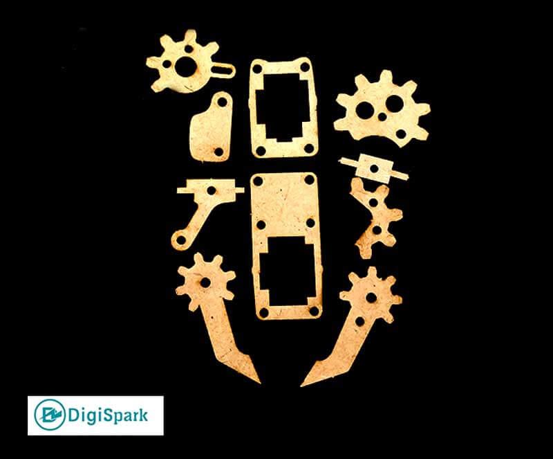 قطعات گریپر ربات بازو MeArm