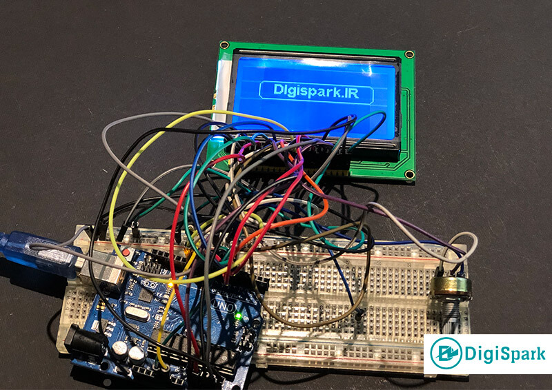 Getting started with lcd 128x64 arduino-digispark