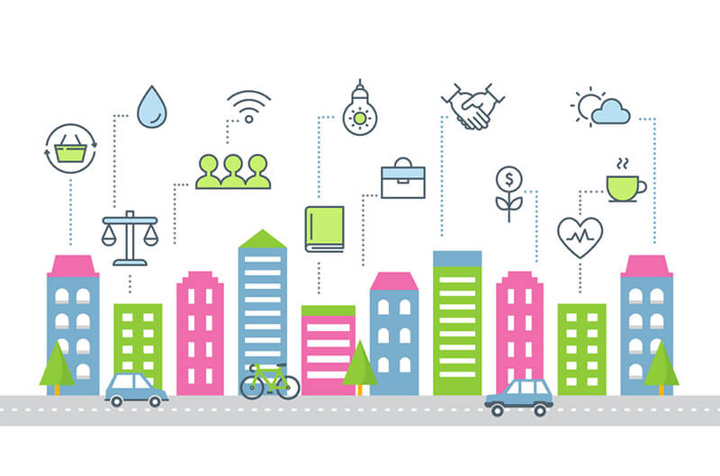 Smart city benefits-digispark