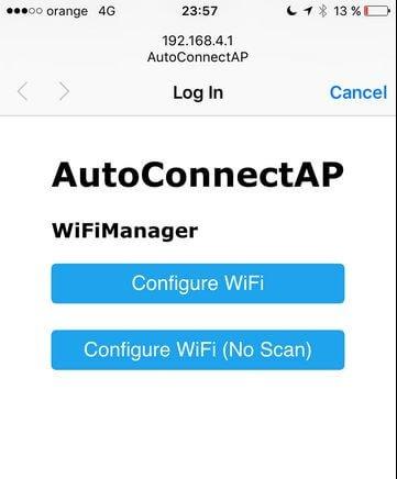 استفاده از WifiManager در برد ESP8266 - دیجی اسپارک