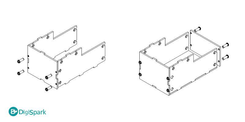 نقشه ساخت جعبه لجباز یا useless box