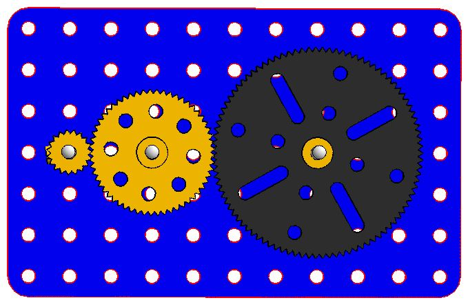 نمونه ای از اتصال چرخ دنده پلاستیکی - دیجی اسپارک