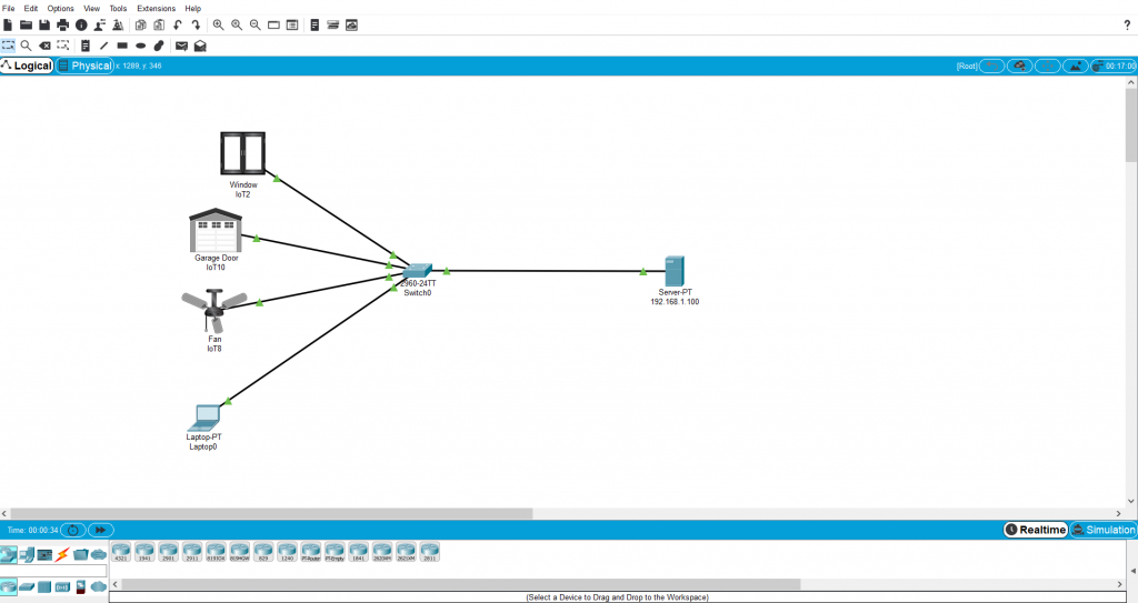 نرم افزار Cisco Packet Tracer