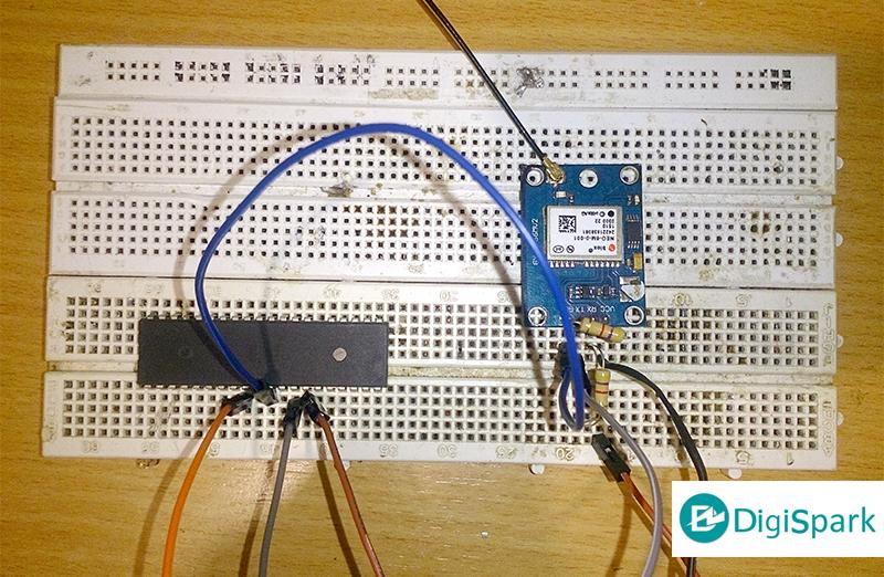 اتصالات ماژول GPS با میکروکنترلر AVR - دیجی اسپارک