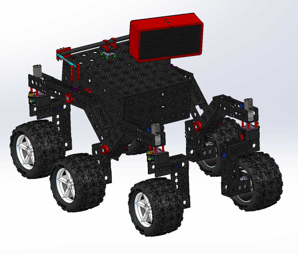 بخشهای ربات ROV-E