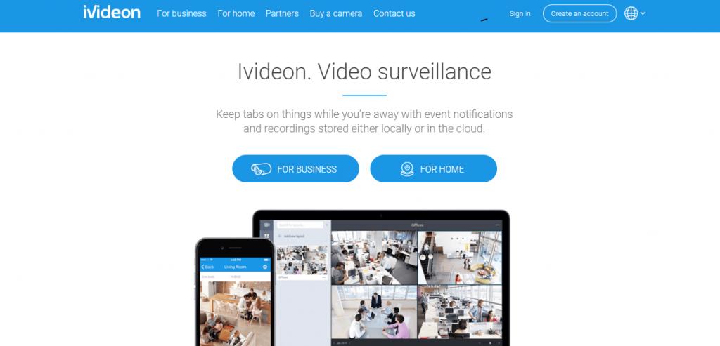 سرویس ابری ivideon تبدیل اندروید به دوربین مدار بسته - دیجی اسپارک
