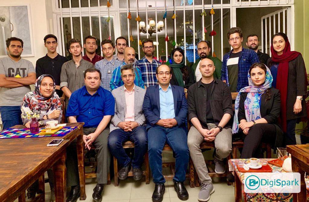 جلسه جمشیم اسپارکرها در تهران با موضوع ارزهای دیجیتال - دیجی اسپارک