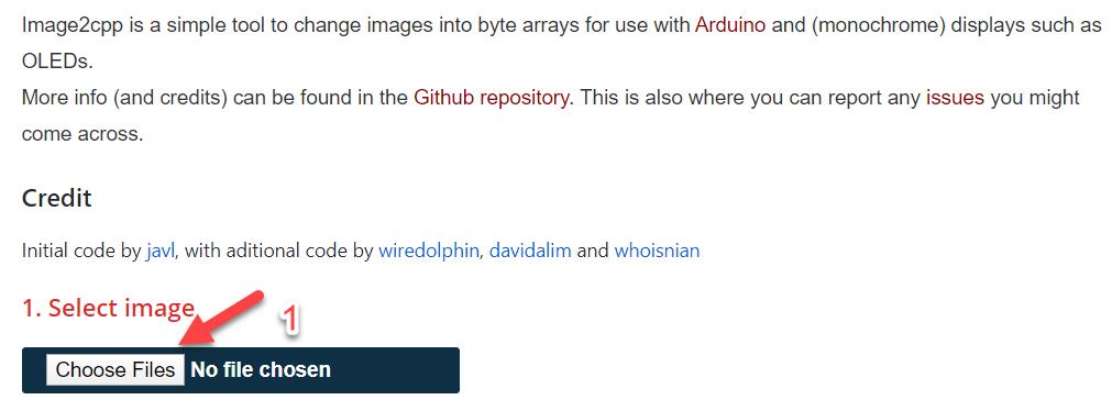 تبدیل تصویر به Bitmap برای ماژول OLED Full Color - دیجی اسپارک