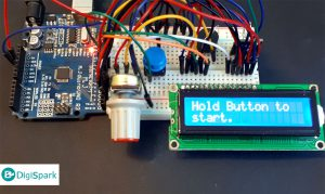 ساخت بازی سنجش زمان عکس العمل با آردوینو و LCD کاراکتری و RGB LED - دیجی اسپارک