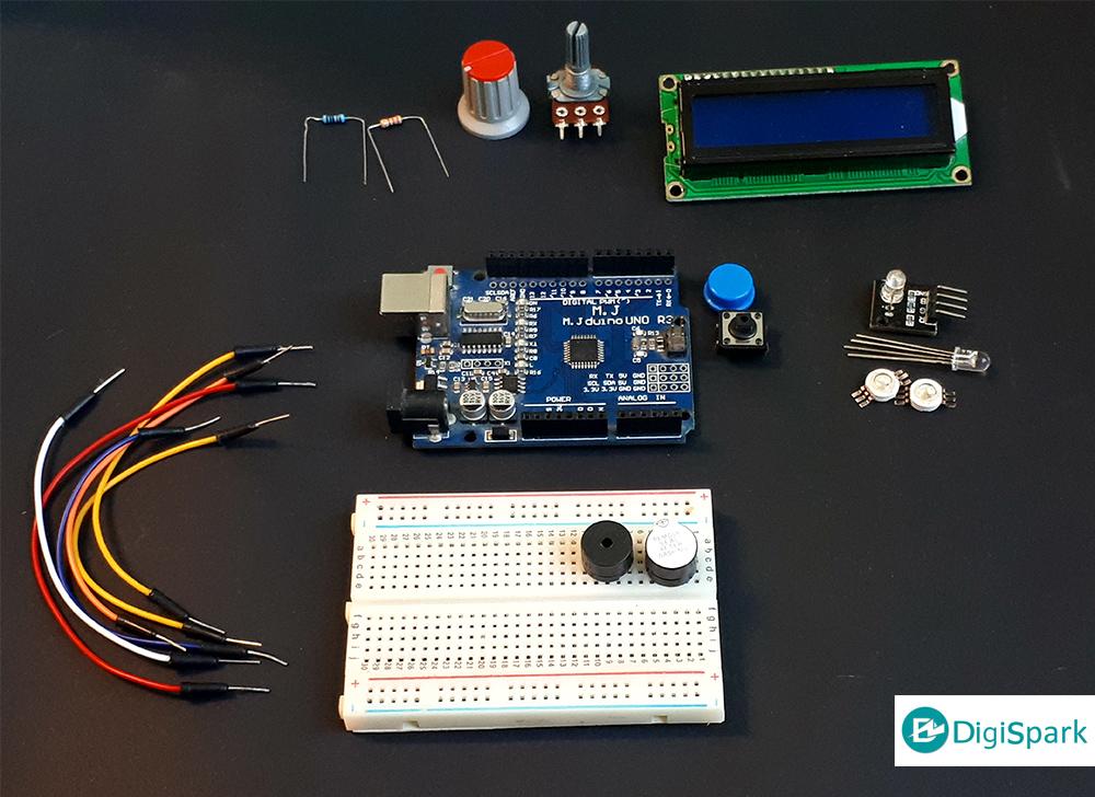 وسایل لازم برای ساخت بازی با آردوینو Arduino Game Challenge - دیجی اسپارک