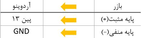 اتصالات بازر در بازی سنجش زمان آردوینو - دیجی اسپارک