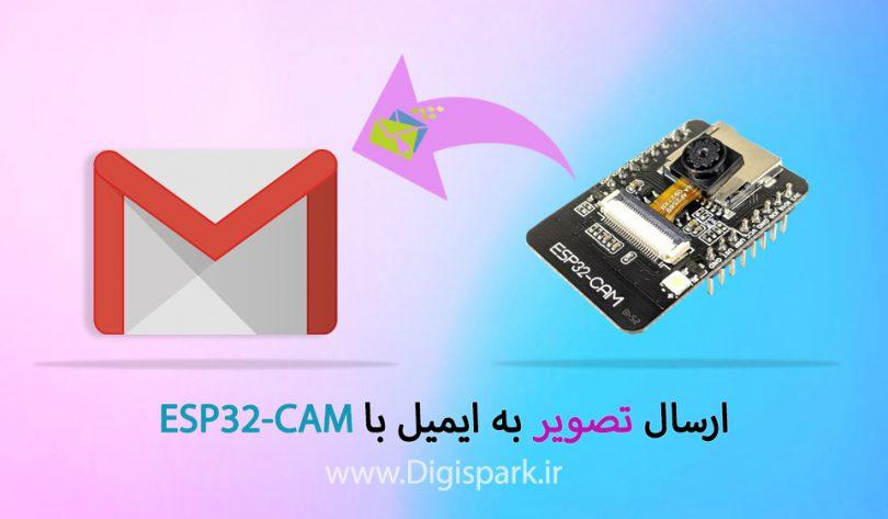 ارسال تصاویر به ایمیل ESP32-cam