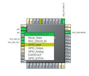 STM32CubeMX GPIO Mode