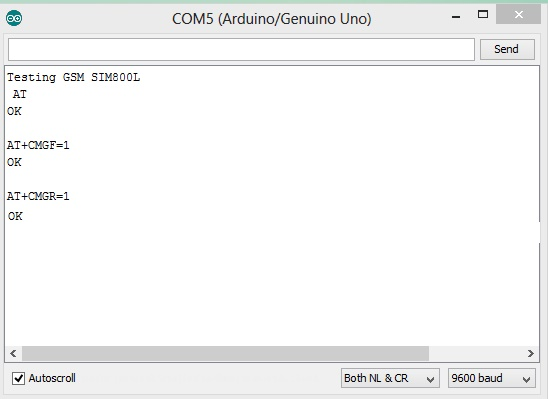 ارسال دستورات AT-Command به ماژول سیم کارت sim800c - دیجی اسپارک