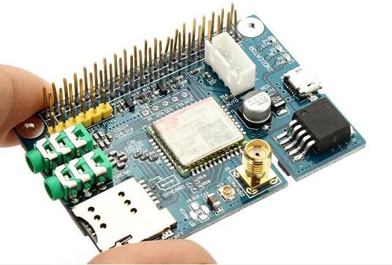 ماژول سیم کارت Sim800C مخصوص برد رزبری پای - دیجی اسپارک