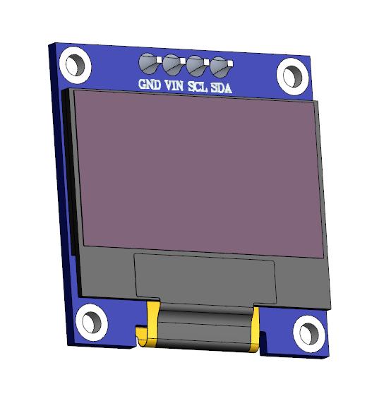 نمایش دما در OLED با 8266/ESP 32