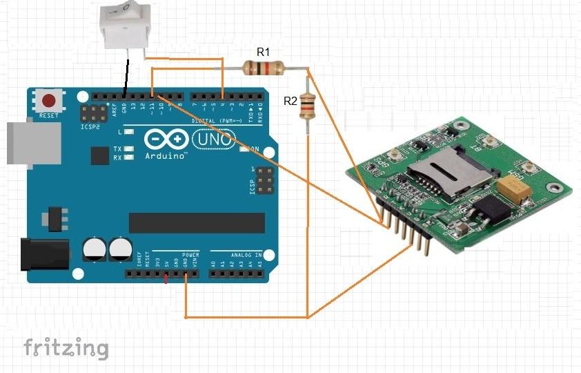 ساخت دستگاه تماس اضطراری با Sim808 و آردوینو - دیجی اسپارک