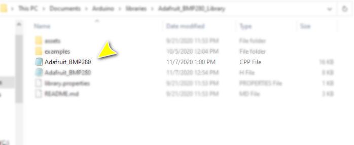 جایگزینی آدرس I2C در فایل کتابخانه - دیجی اسپارک