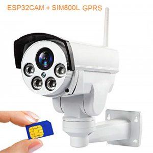 دوربین آنلاین سیم کارت خور با ماژول ESP32-CAM و ماژول SIM800L