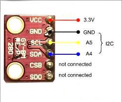 سنسور BMP280 با رابط I2C - دیجی اسپارک