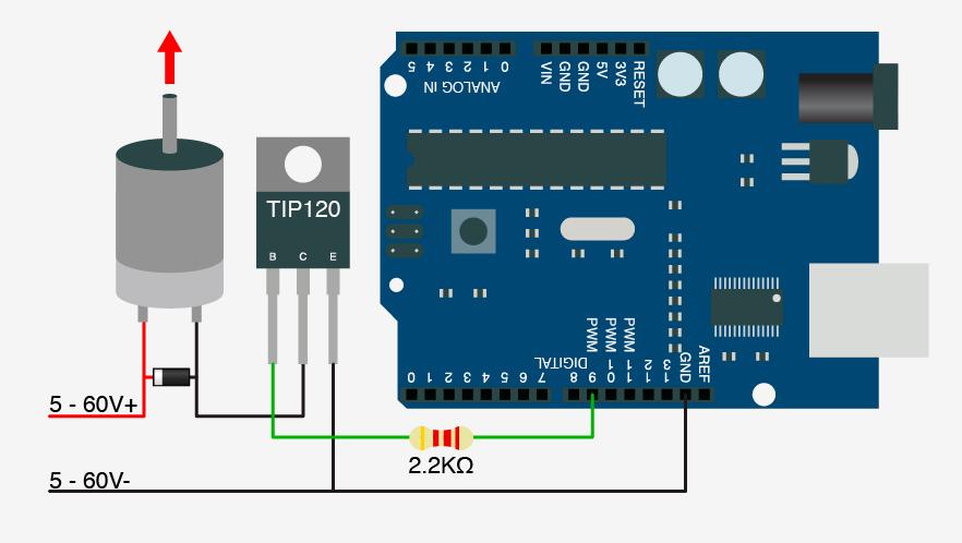 اتصال آرمیچر به آردوینو Arduino - دیجی اسپارک