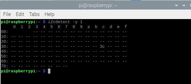 دریافت آدرس I2C در آموزش راه اندازی نمایشگر OLED - دیجی اسپارک