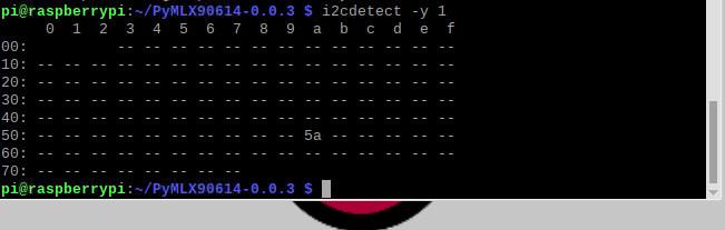 شناسایی پایه های I2C رزبری پای با دستور i2cdetect -y 1 - دیجی اسپارک