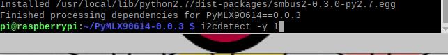 دستور i2cdetect -y 1 برای دریافت آدرس I2C در رزبری پای - دیجی اسپارک