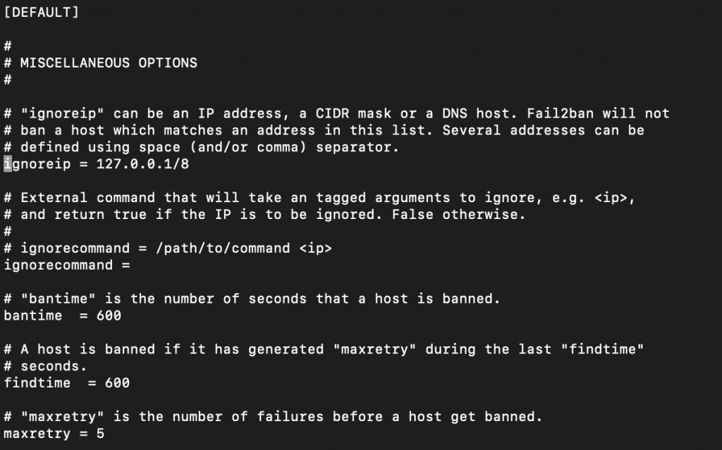 نصب سرویس Fail2Ban در برد رزبری پای - دیجی اسپارک