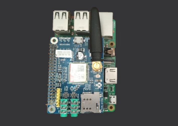 شیلد سیم کارت Sim800C برد رزبری پای - دیجی اسپارک