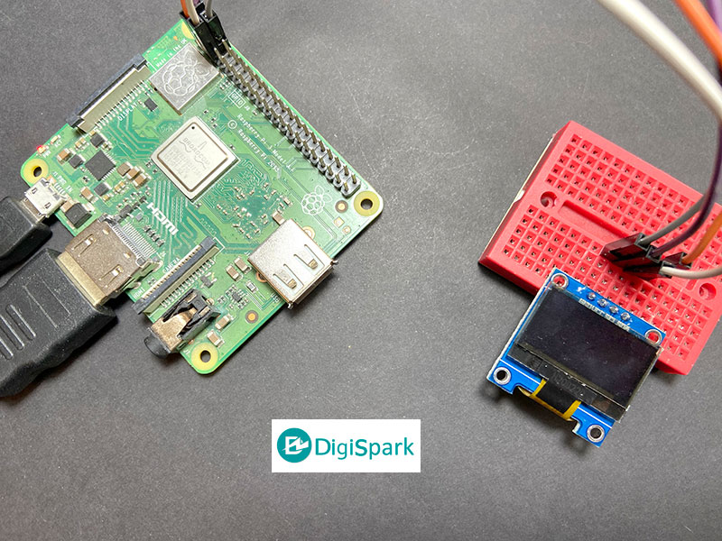 پروژه راه اندازی نمایشگر OLED با Raspberry Pi - دیجی اسپارک
