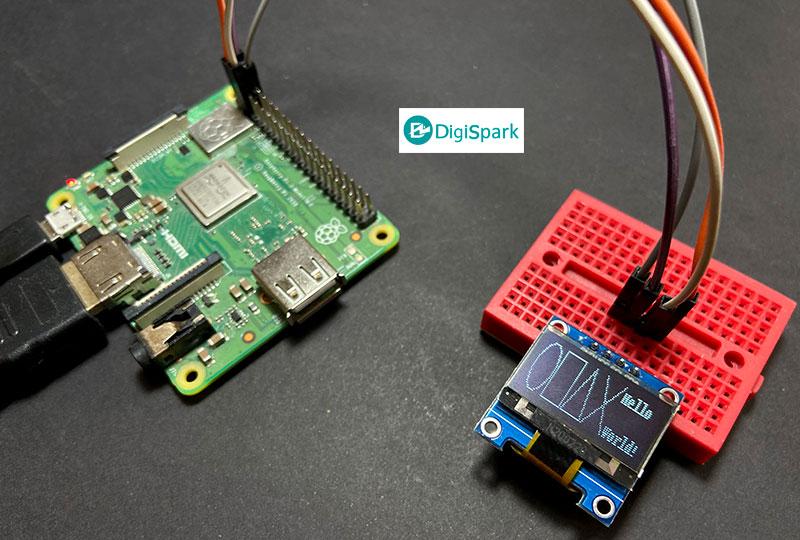 آموزش راه اندازی نمایشگر OLED با رزبری پای - دیجی اسپارک
