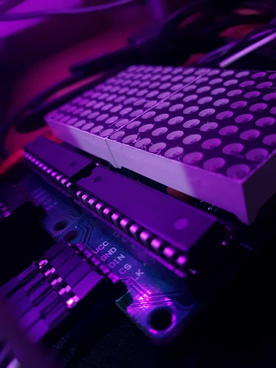 کنترل ماژول دات ماتریس Max7219 با وب سرور آردوینو - دیجی اسپارک