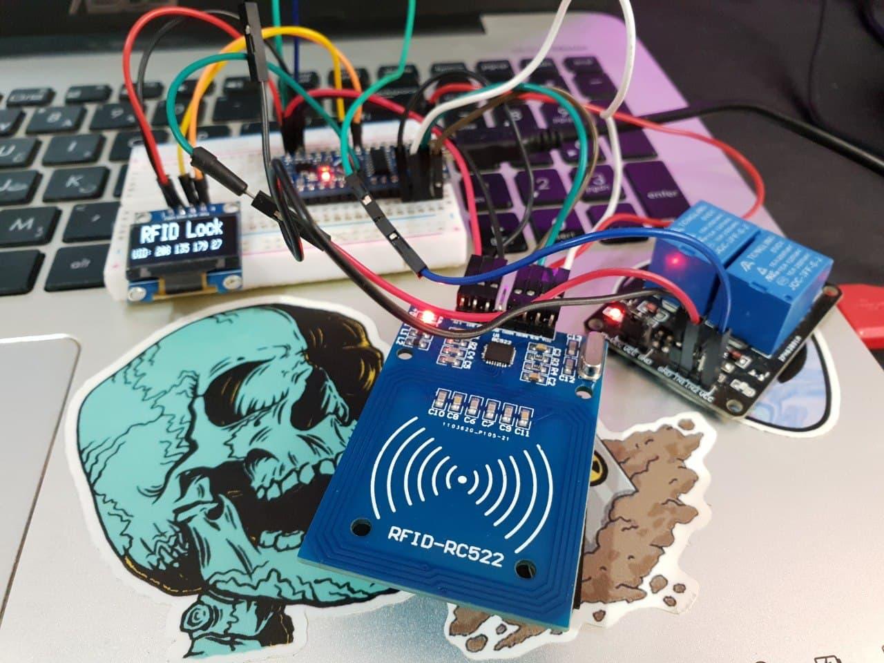 پروژه سیستم RFID هوشمند با ماژول کارت خوان RC522 و آردوینو - دیجی اسپارک