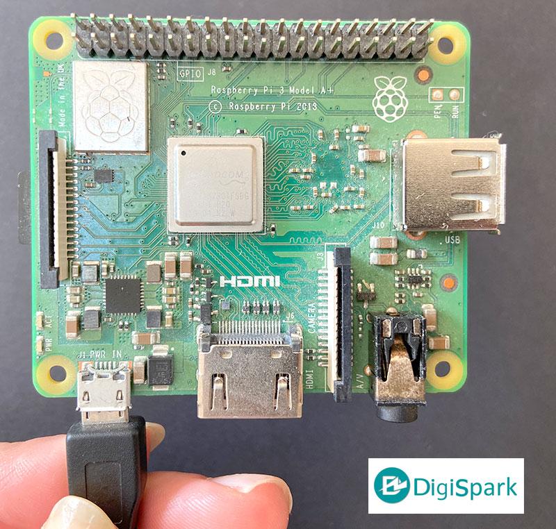 برد رزبری پای Raspberry Pi A+ - دیجی اسپارک