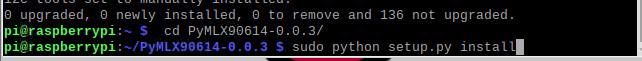 دستور sudo python setup.py install در رزبری پای - دیجی اسپارک