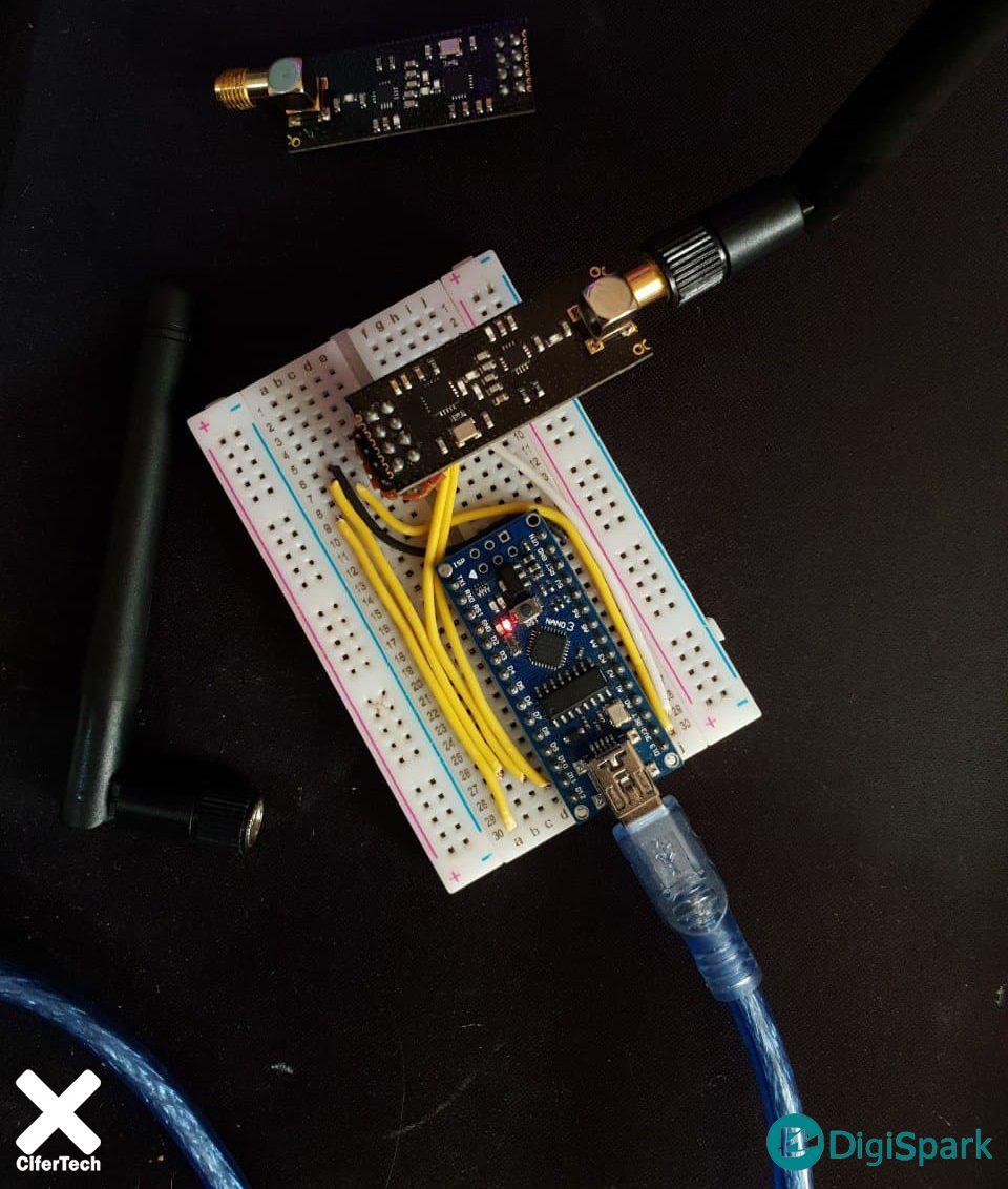 راه اندازی ماژول Nrf24L01 با برد آردوینو نانو Nano - دیجی اسپارک