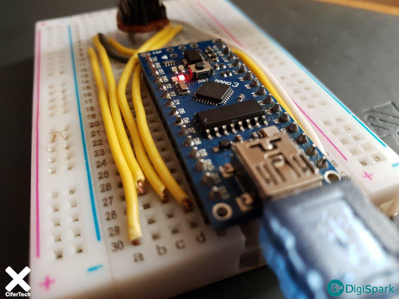ساخت اسکنر وای فای با برد آردوینو نانو Arduino Nano - دیجی اسپارک