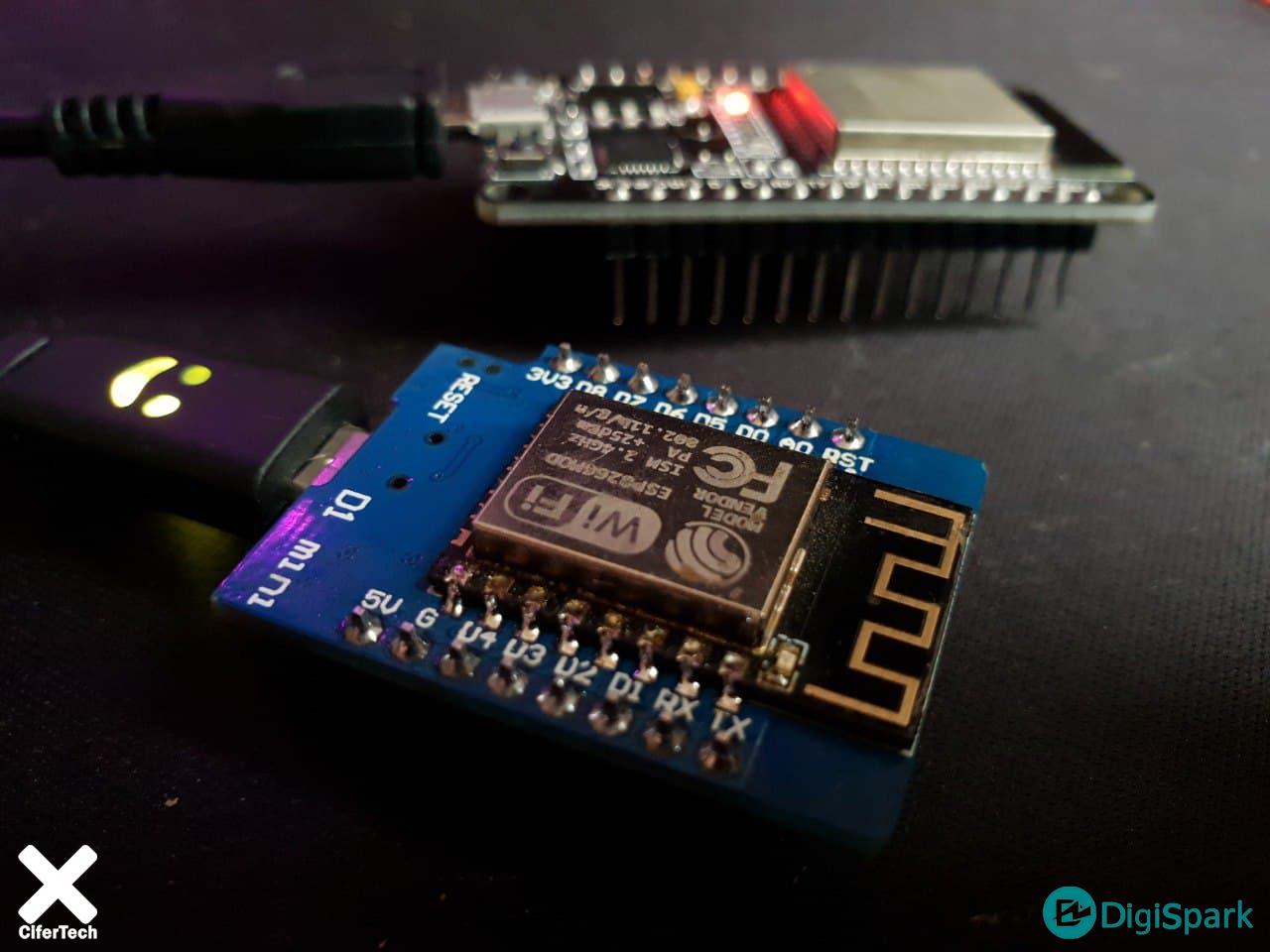 ارتباط ESP-Now بین برد ESP8266 و برد ESP32 - دیجی اسپارک