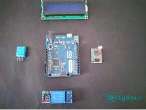 برد آردوینو Uno و تجهیزات ساخت برد کنترل هود آشپزخانه - دیجی اسپارک