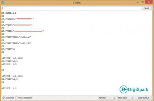 مراحل آپلود و انتقال فایل ftp به سرور با اینترنت سیم کارت Sim800L - دیجی اسپارک