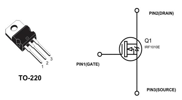 شناخت پایه های ترانزیستور ماسفت