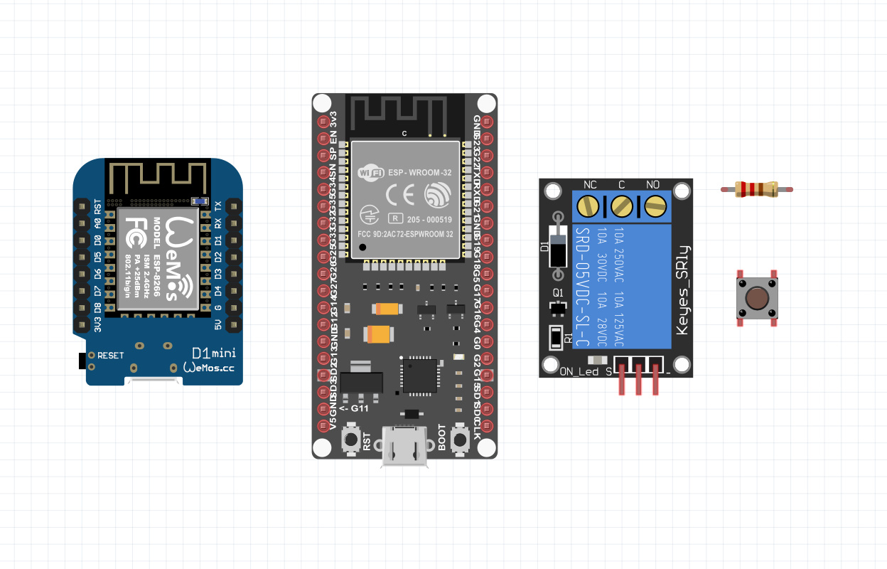 وسایل لازم برای کنترل وسایل برقی با پروتکل ESP-Now - دیجی اسپارک