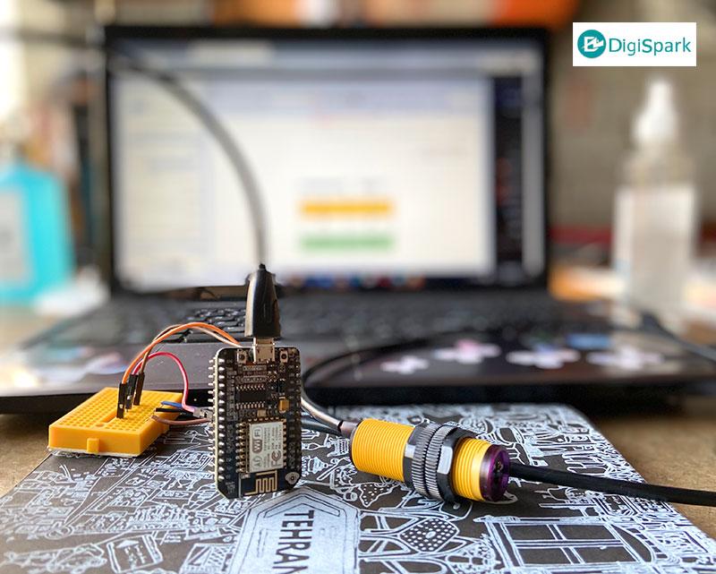 پروژه افراد شمار اینترنت اشیا با پلتفرم uBeac - دیجی اسپارک