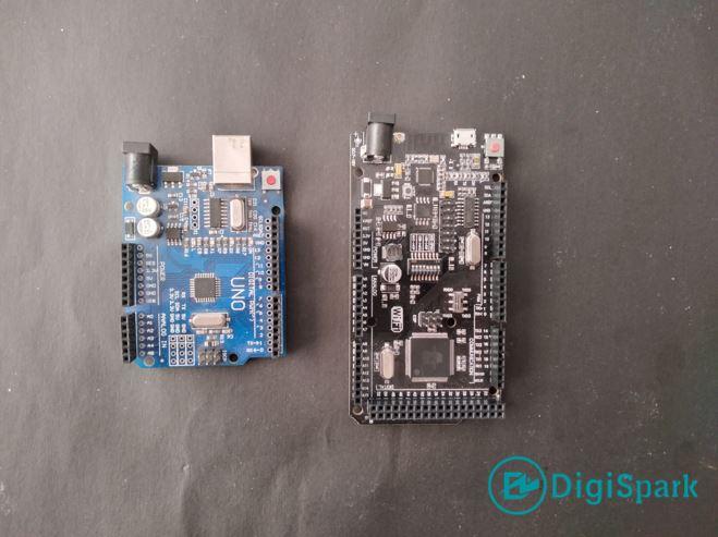 مقایسه برد Mega2560 Wifi و برد آردوینو Uno - دیجی اسپارک