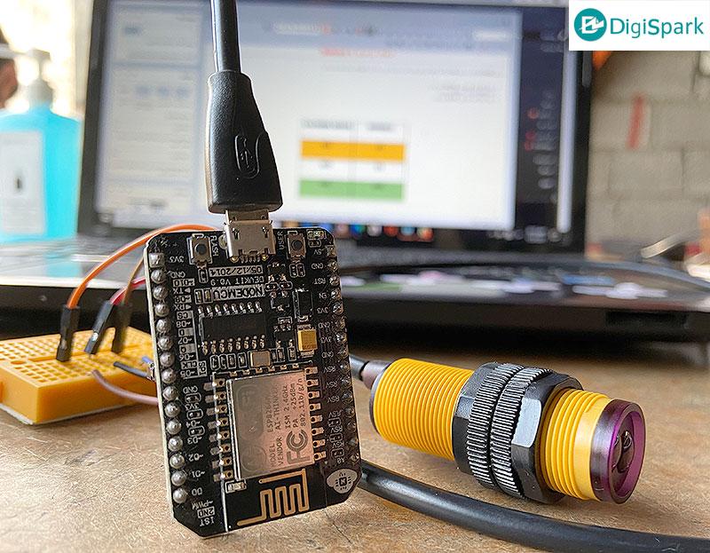 پروژه افراد شمار IoT با برد Noedmcu و پلتفرم اینترنت اشیا - دیجی اسپارک