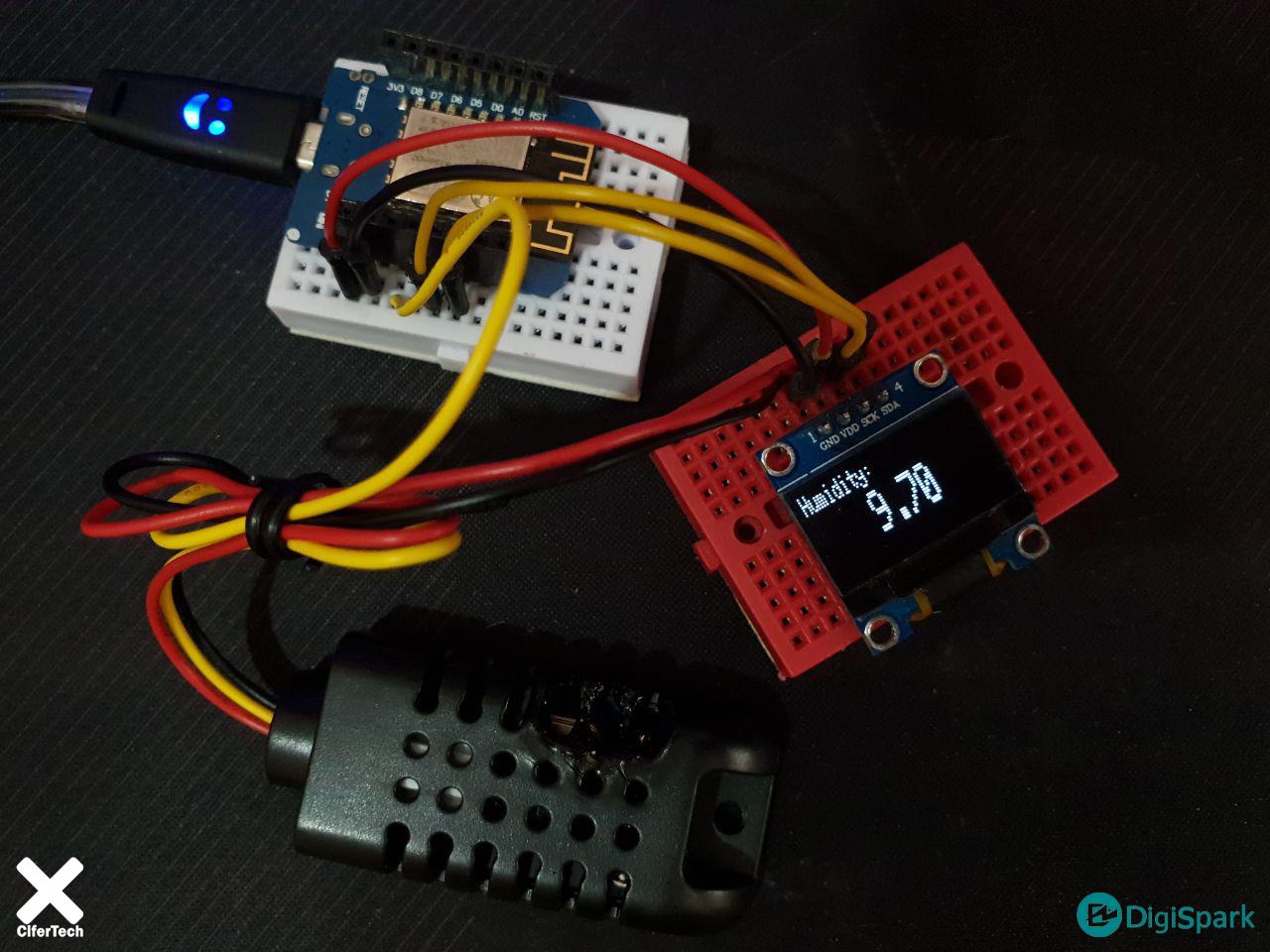 ساخت دماسنج IoT با پلتفرم اینترنت اشیا ThingSpeak و سنسور AM2301 - دیجی اسپارک