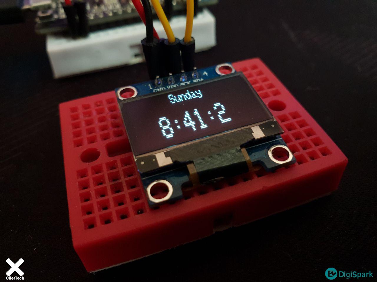 ساعت دیجیتال با NTP سرور ESP32 - دیجی اسپارک