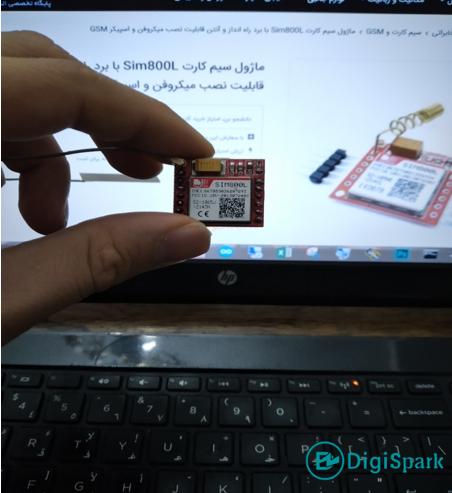 ماژول سیم کارت SIM800L - دیجی اسپارک
